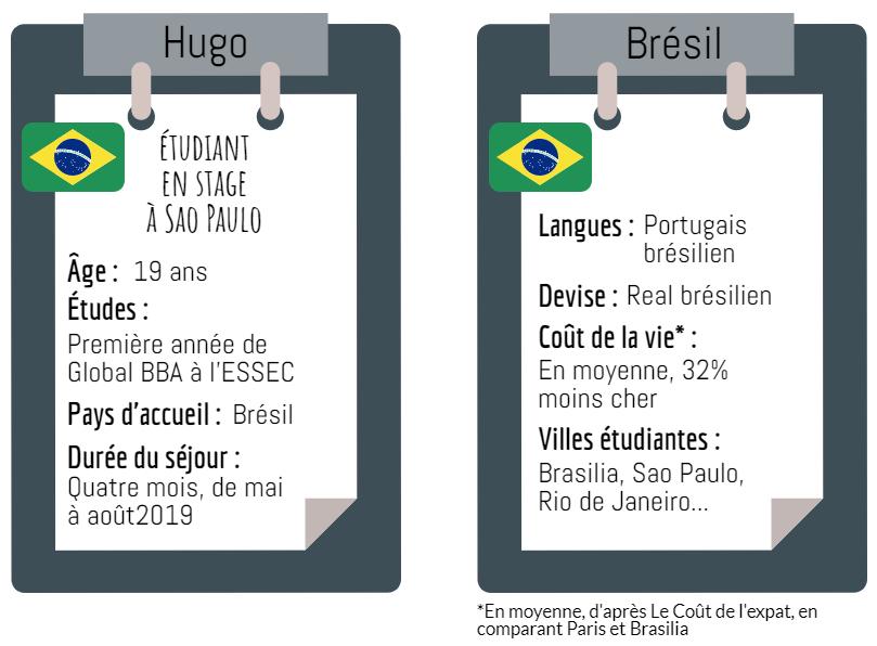Fiche Brésil étudiant